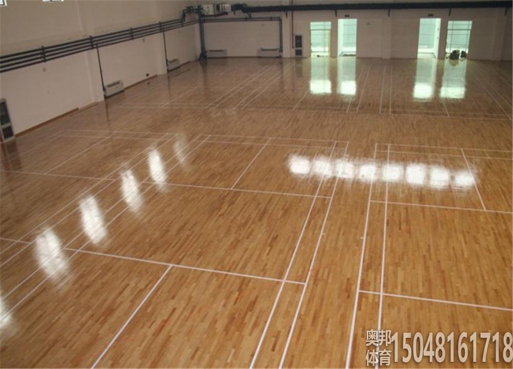 运动木地板场地