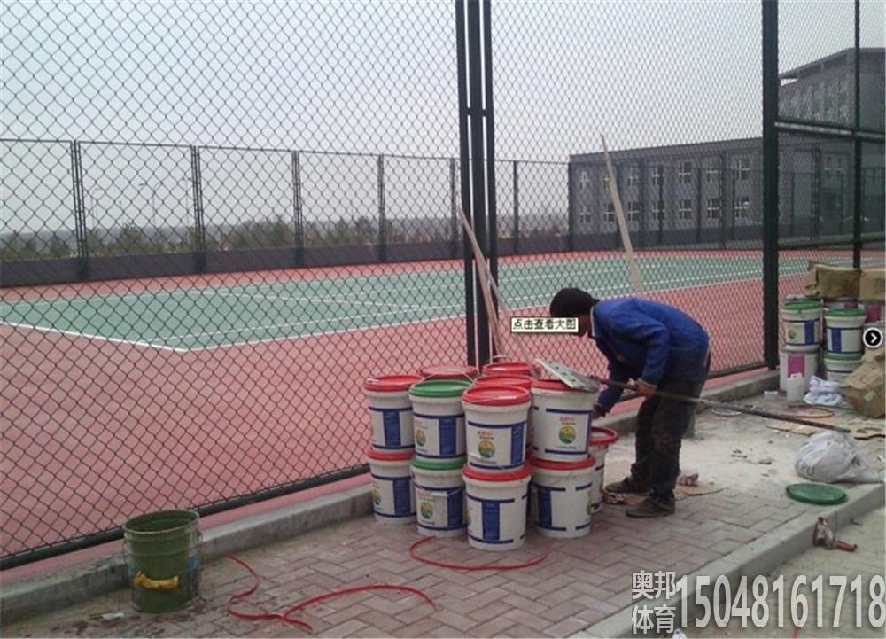 包头市体育运动学校篮球、网球围网场地