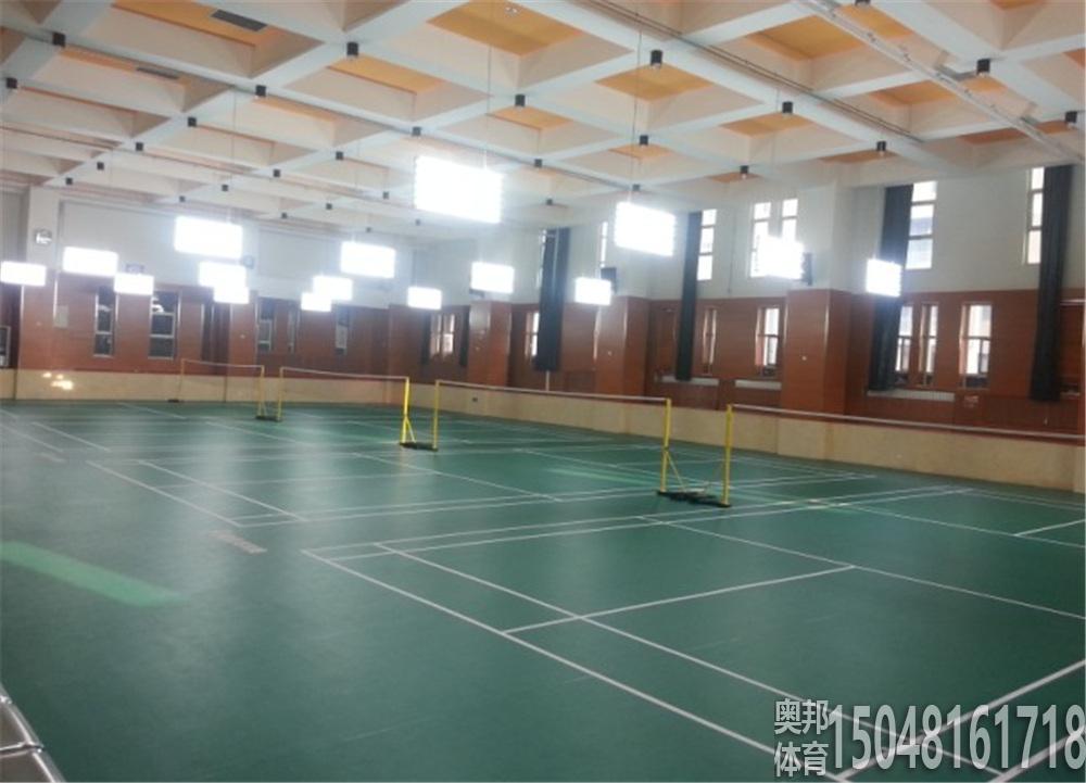 蒙古族中学羽毛球场地