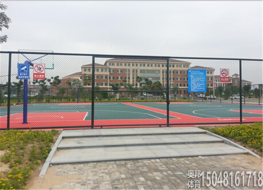 包头艺术学校室外围网及拼装篮球产地